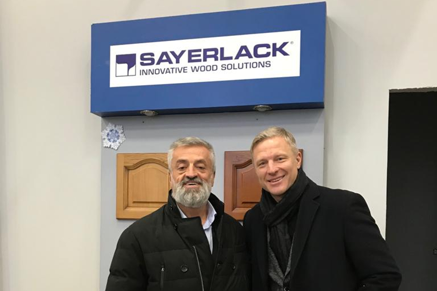 DR. ALESSANDRO PIROTTA VISITS IN BELARUS THE SAYERLACK DISTRIBUTOR EUROPROJECT