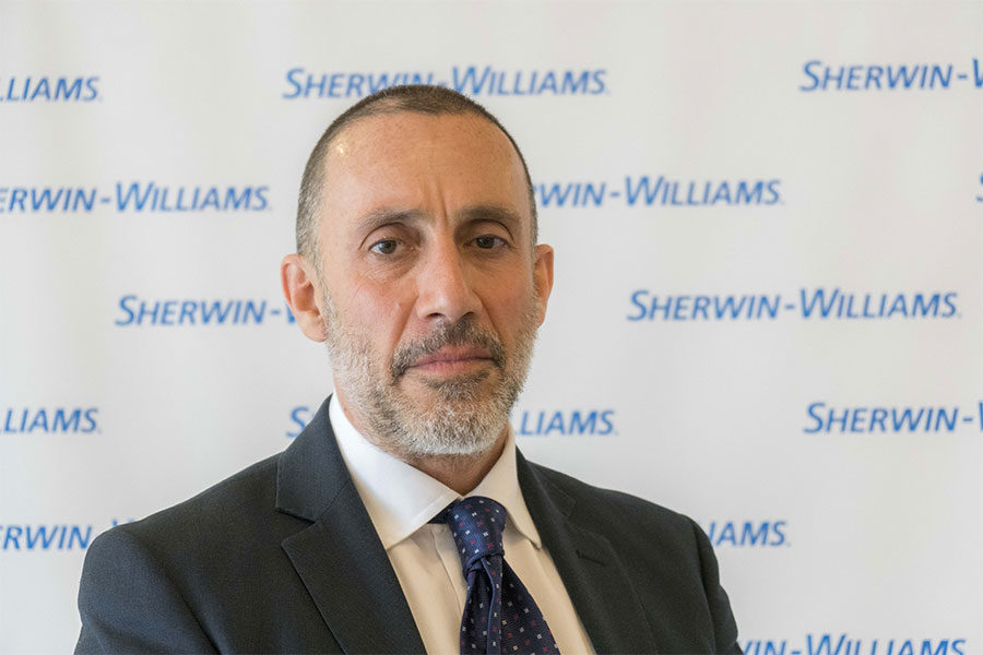 SHERWIN-WILLIAMS ITALY PRESENTS THE NEW SENIOR COMMERCIAL DIRECTOR